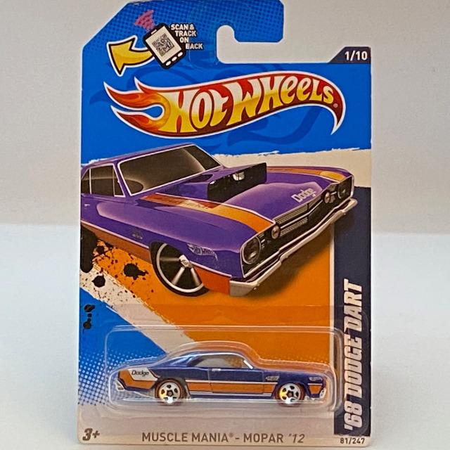 2012  Muscle Mania - Mopar / '68 Dodge Dart / '68 ダッジ ダート