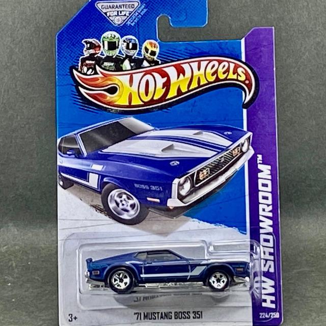 2013 Mainline / '71 Mustang Boss 351 / '71 マスタング ボス 351