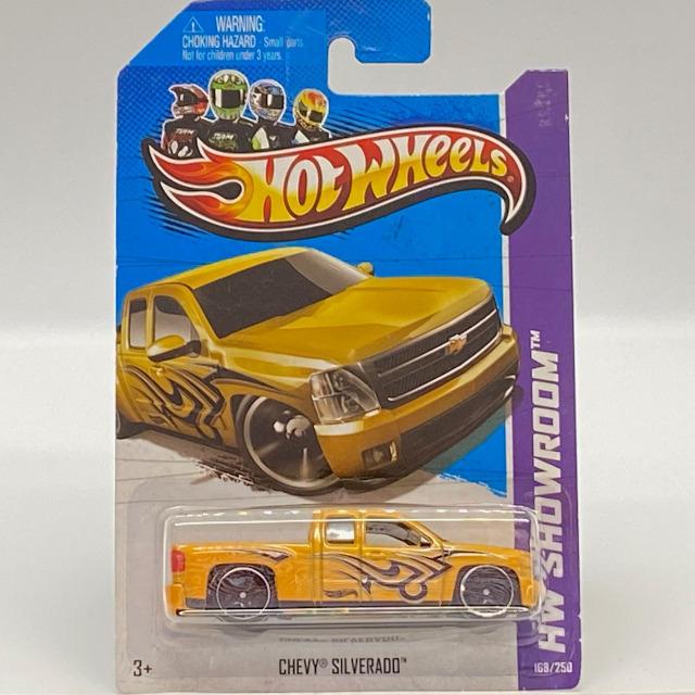 2013 HW Showroom Hot Trucks / Chevy Silverado / シェビー シルバラード