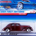 1999 First Editions / 1936 Cord / 1963 コード