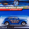 2000 CIRCUS ON WHEELS SERIES / FAT FENDERED '40 (BLU) / ファットフェンダー '40