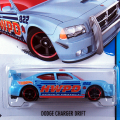 2014 HW CITY / Dodge Charger Drift (BLU) / ダッジ・チャージャー ドリフト