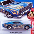2016 HW Flames / '69 Mercury Cyclone / '69 マーキュリー・サイクロン