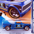 2012HW City Works / Custom '69 Chevy Pickup / カスタム '69 シェビー ピックアップ 【Wal-Mart Exclusive】