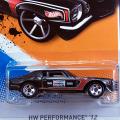 2012 HW PERFORMNCE / '70 CAMARO ROAD RACE (BLK)