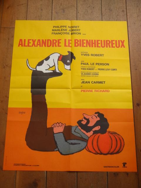 サヴィニャック ビンテージポスター Alexandre le Bienheureux Savignac