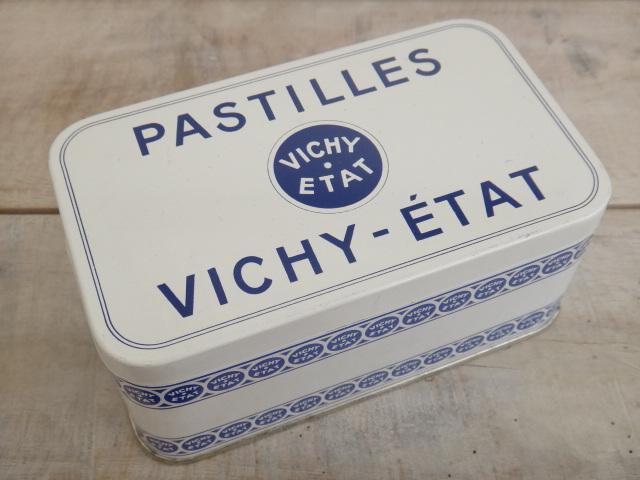 PASTILLES VICHY ETAT アンティーク キャンディー缶