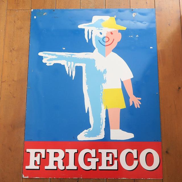 サヴィニャック ビンテージ看板 FRIGECO SAVIGNAC