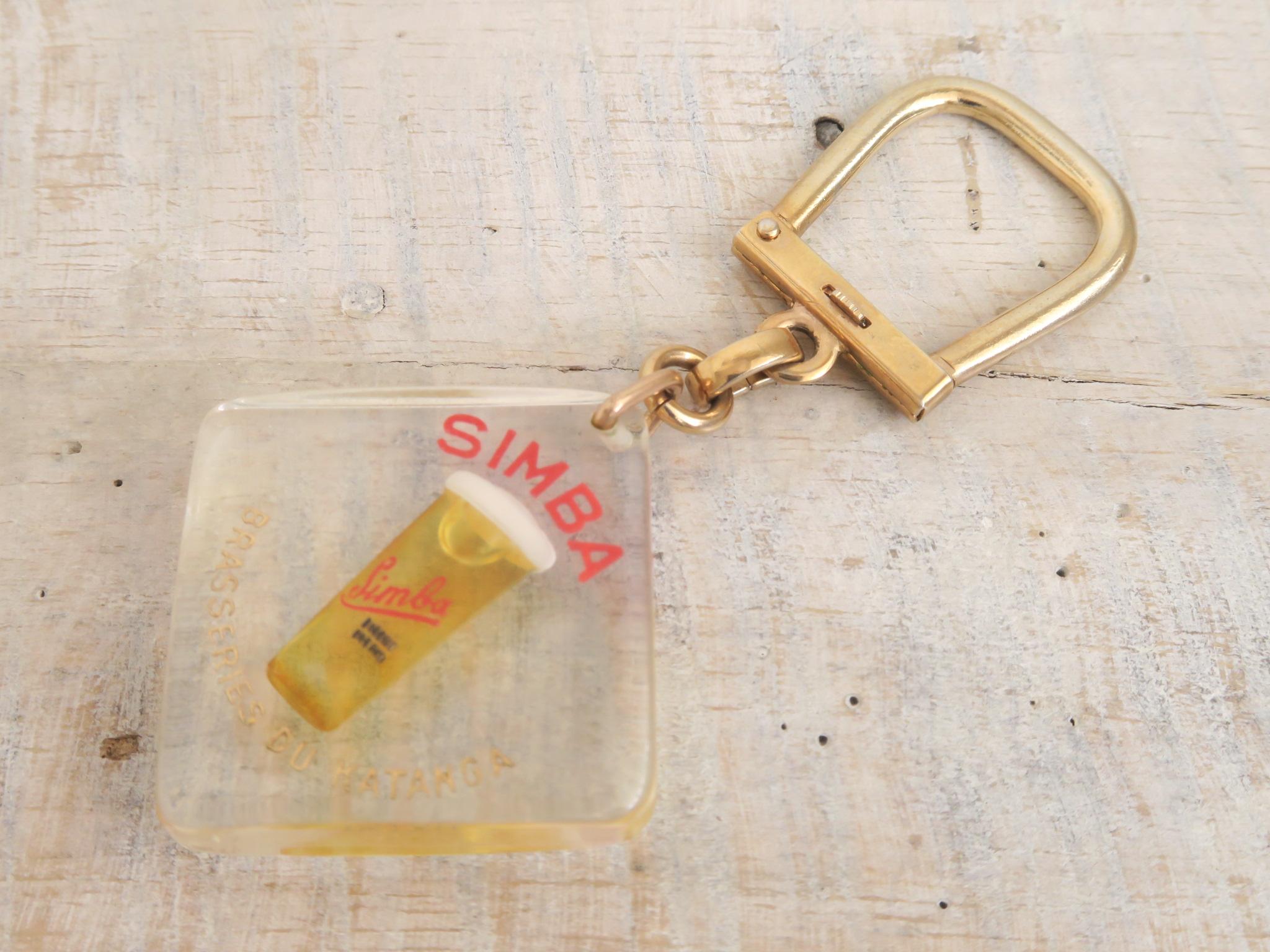 ブルボンキーホルダー ビール SIMBA