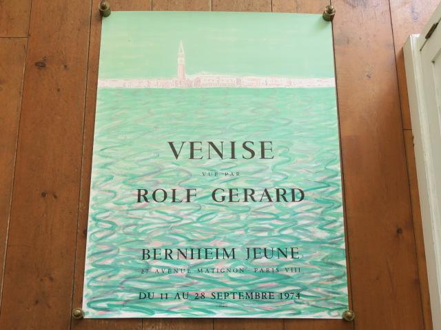 ロルフ・ジェラルド ヴェニス ビンテージポスター Rolf Gerard VENISE