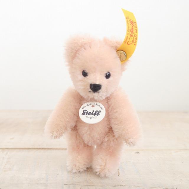 シュタイフ マッチ箱 テディベア 4月 ピンク Steiff Matchbox Teddy Bear April 8cm