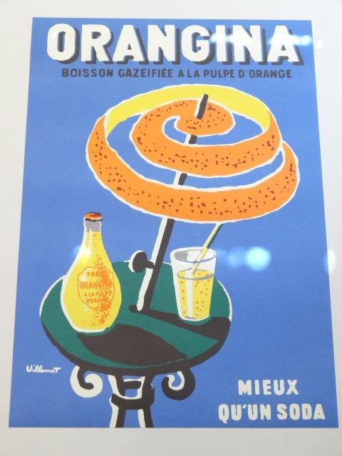 ORANGINA オランジーナ オリジナルポスター VILLEMOT ヴェルナール・ヴューモ