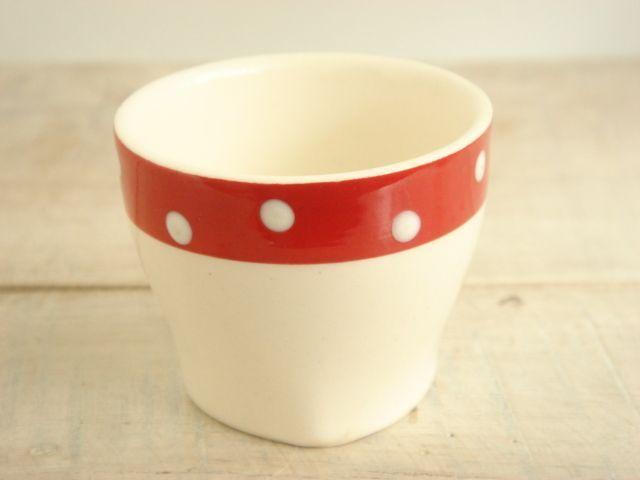 ミッドウィンター レッドドミノ エッグカップ