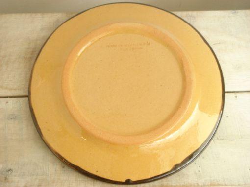 スフレンハイム焼き 花柄 デザートプレート