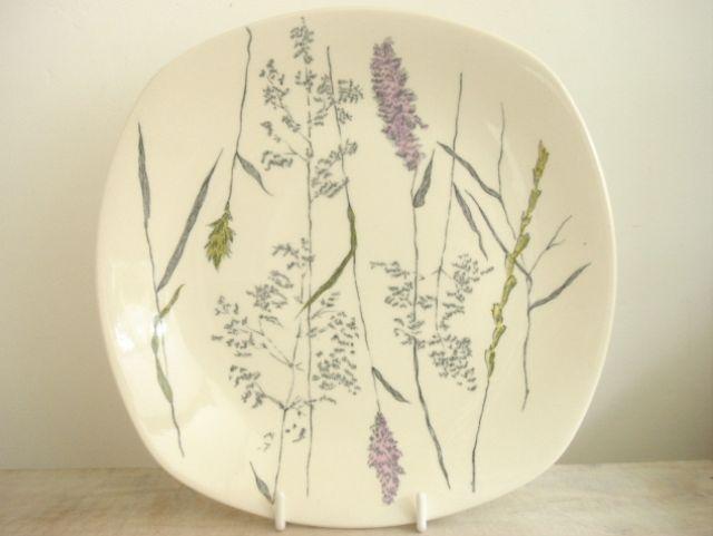 ミッドウィンター MIDWINTER Whispering Grass デザート皿