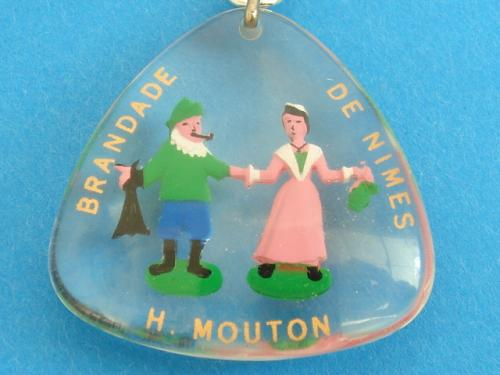 ブルボンキーホルダー H.MOUTON