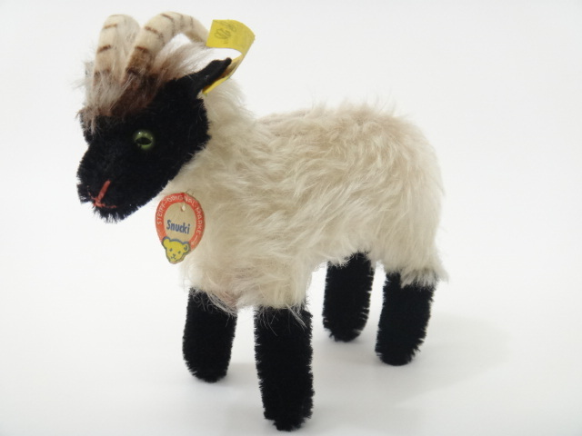 アンティーク シュタイフ 野生の羊 Steiff Snucki 12センチサイズ