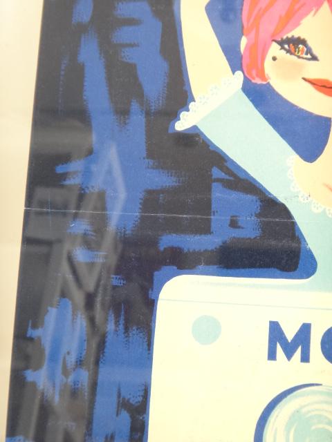ルフォール・オプノ ヴィンテージポスター  Lefor Openo Moi j'ai une MACHINE A LAVER