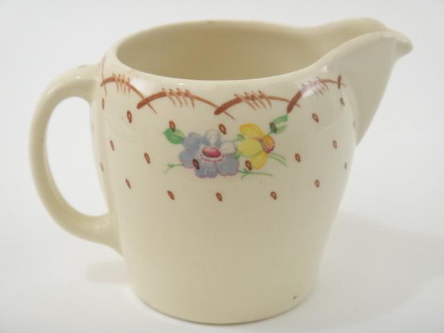 スージークーパー ブラウン プランタン 小花 ミルクジャグ