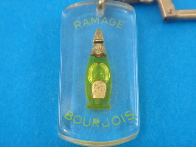 ブルボンキーホルダー 香水 ブルジョワ BOURJOIS RAMAGE