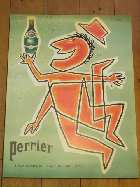 サヴィニャック ペリエ ポスター Savignac Perrier