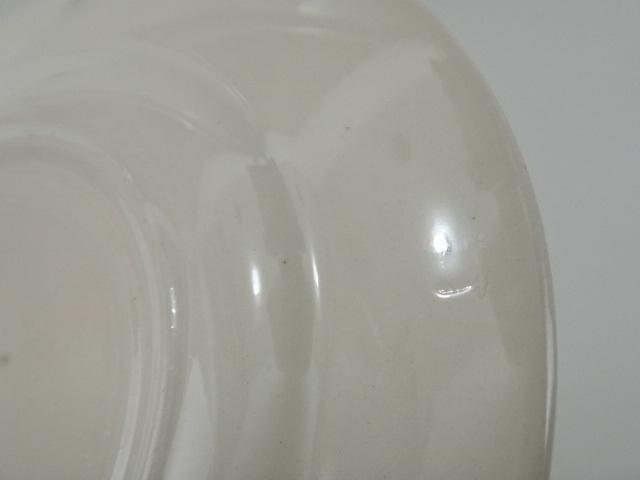 フランス アンティークデザート皿 Dilou DIGOIN SARREGUEMINES