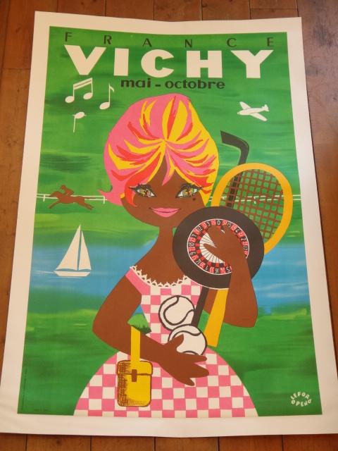 ルフォール・オプノ ヴィンテージポスター VICHY Lefor Openo