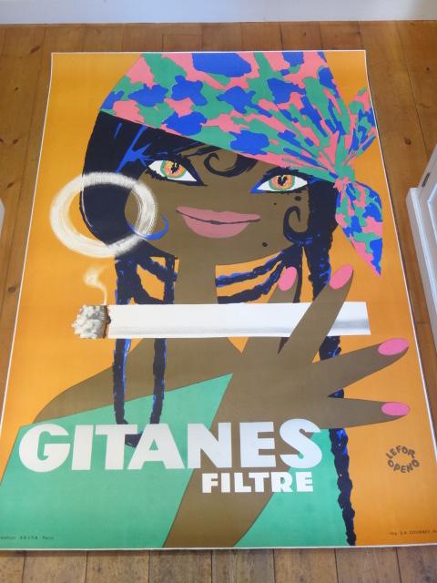 ルフォール・オプノ ジタン ヴィンテージポスター Lefor Openo GITANES