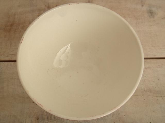 フランス アンティーク カフェオレボウル フルーツの実 Sarreguemines製