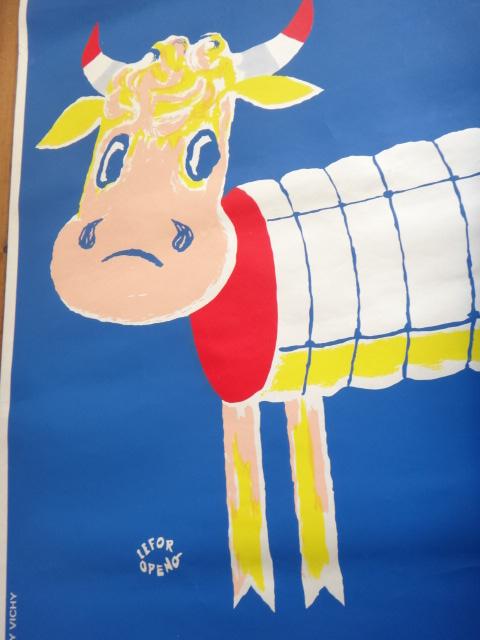 ルフォール・オプノ ヴィンテージポスター Lefor Openo CONCOURS AGRICOLE