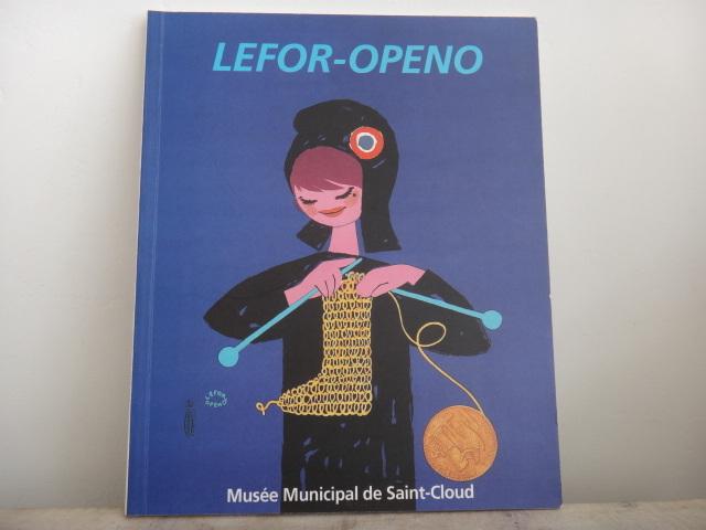 ルフォール・オプノ 作品集 Lefor Openo Musee Municipal de Saint Cloud