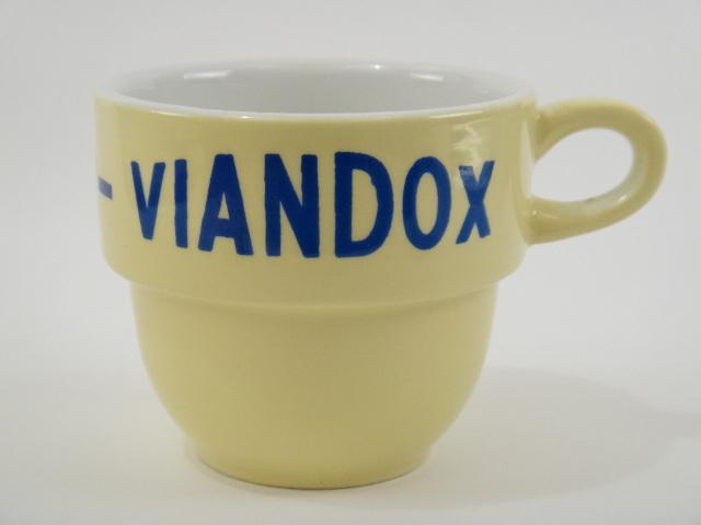 VIANDOX マグカップ クリームイエロー