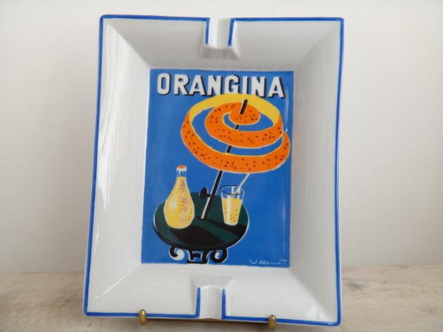 オランジーナ ビンテージ 灰皿 ヴューモ ORANGINA VILLEMOT