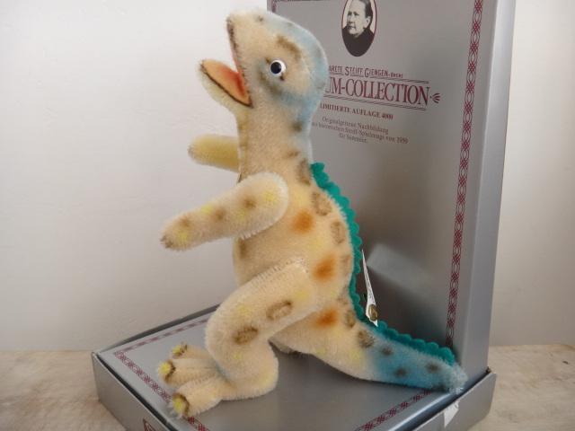シュタイフ ティラノサウルス Steiff Tyros MUSEUM COLLECTION