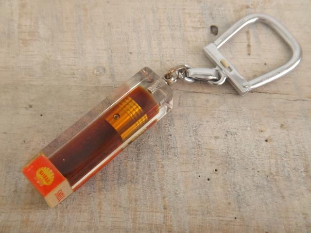 ブルボンキーホルダー シェル SHELL SUPER MOTOR OIL