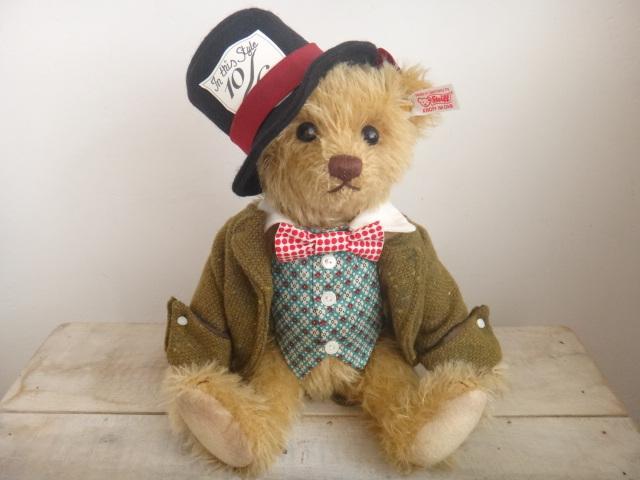 シュタイフ テディベア マッドハッター Steiff Teddybear MAD HATTER 30cm