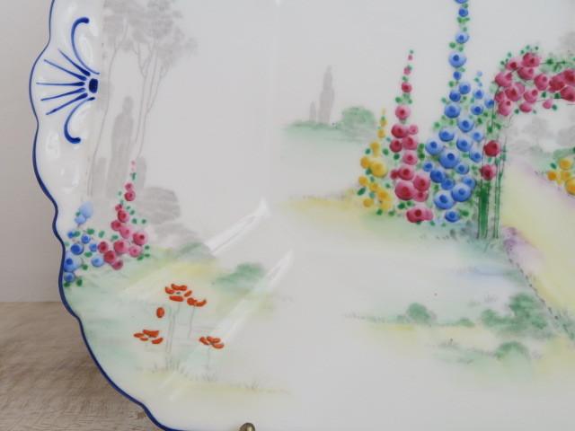 シェリー アーチウェイオブローゼズ デザートプレート SHELLEY Archway of Roses