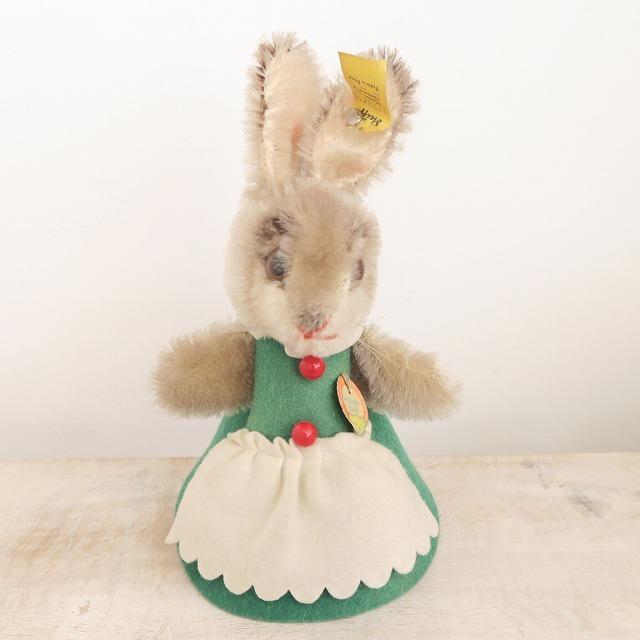 アンティーク シュタイフ ナイトキャップラビット Steiff Nightcap Rabbit