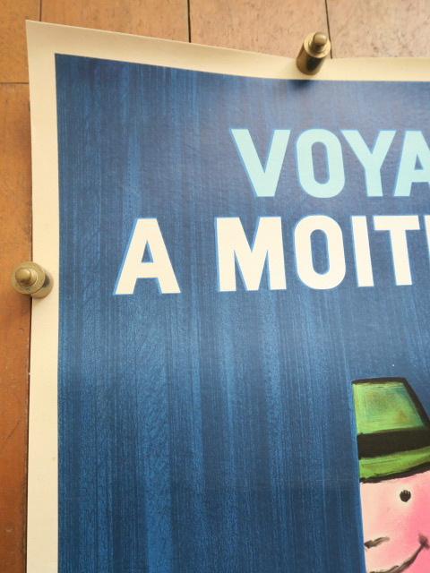 サヴィニャック フランス国鉄 ムッシュ ヴィンテージポスター Savignac SNCF