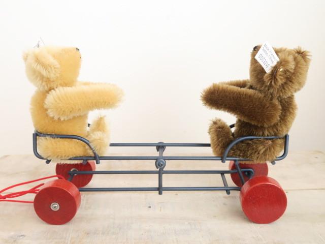 シュタイフ テディベア シーソー Steiff Teddy Bears with Seesaw