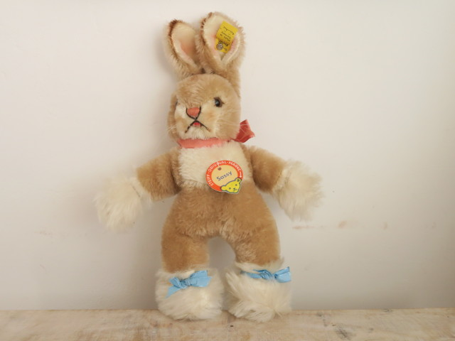 アンティーク シュタイフ ウサギ ベビーラビット Steiff Sassy 22cmサイズ