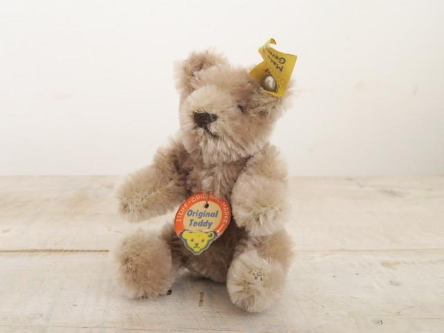 アンティーク シュタイフ オリジナル テディベア Steiff Original Teddy 11cm