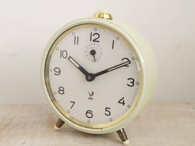 JAZ ビンテージ 目覚まし時計