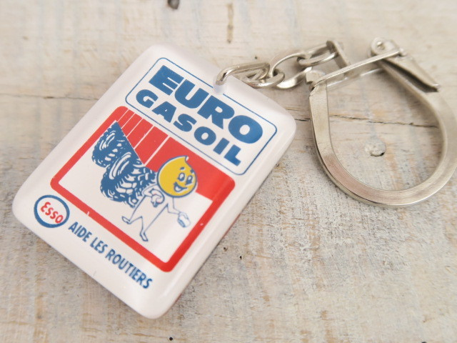 ブルボンキーホルダー エッソボーイ ESSO EURO GASOIL