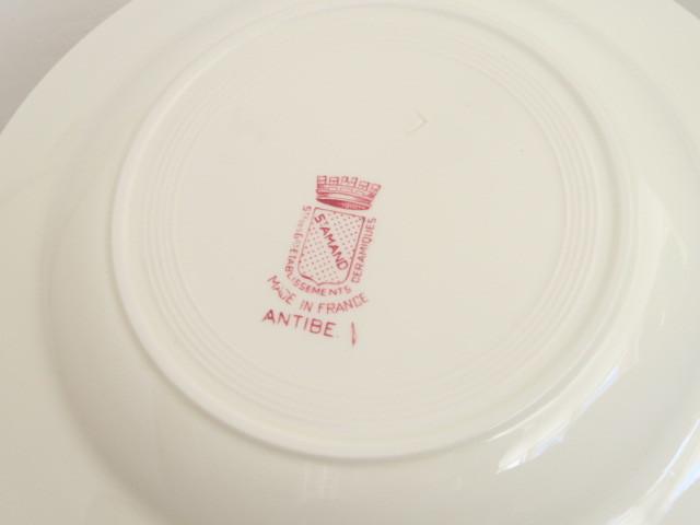アンティーク皿 ANTIBES St.Amand