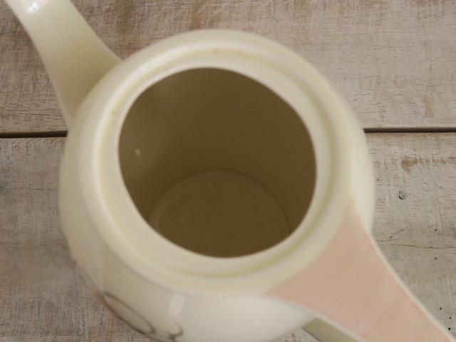 スージークーパー ピンク ドレスデンスプレイ コーヒーポット