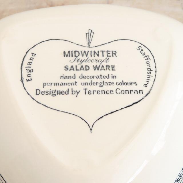 ミッドウィンター サラダウェア トライアングルプレート テレス・コンラン MIDWINTER SALAD WARE by Terence Conran
