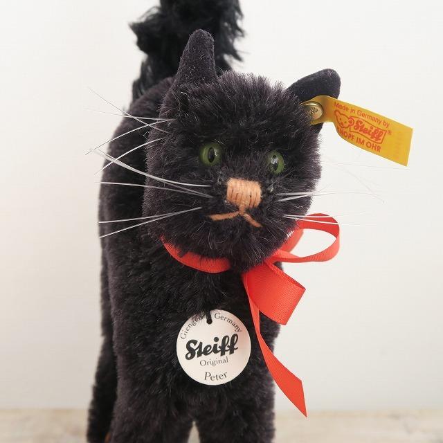 シュタイフ 黒猫 Steiff Peter