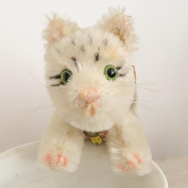 シュタイフ ネコ ドリンキングキャット Steiff Drinking Cat MUSEUM COLLECTION