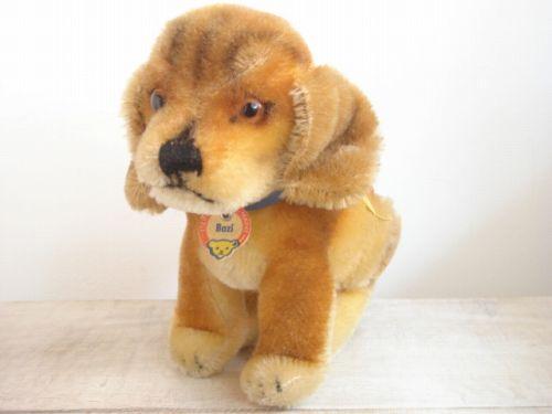 アンティーク シュタイフ 子犬のダックスフント Bazi Mサイズ